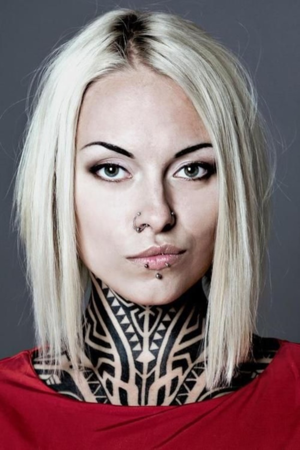 Cute Facial Piercings for Girls to Stand in VOUGUE0061