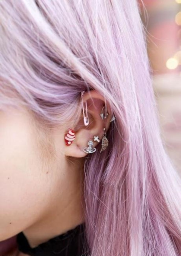 Cute Facial Piercings for Girls to Stand in VOUGUE0171