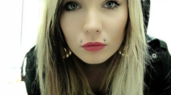 Cute Facial Piercings for Girls to Stand in VOUGUE0681