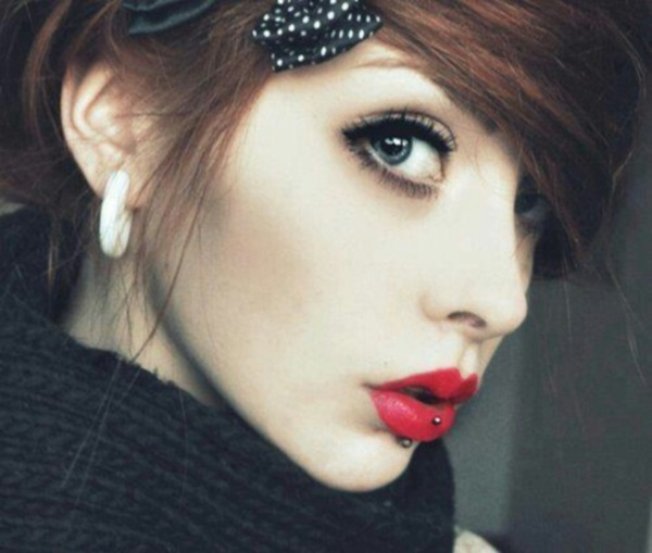 Cute Facial Piercings for Girls to Stand in VOUGUE0741
