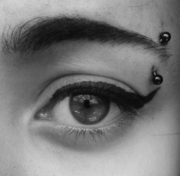 Eyebrow piercing designs31