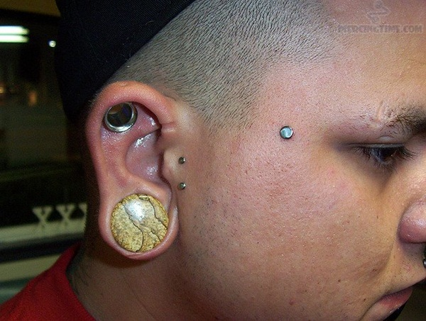 Eyebrow piercing designs46