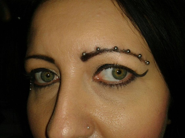 Eyebrow piercing designs62