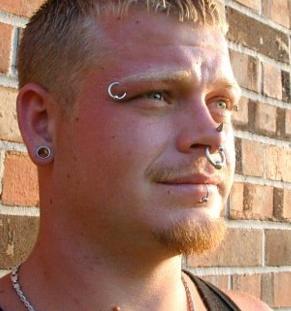 Eyebrow piercing designs9