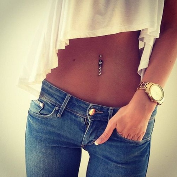 Navel Piercing designs44