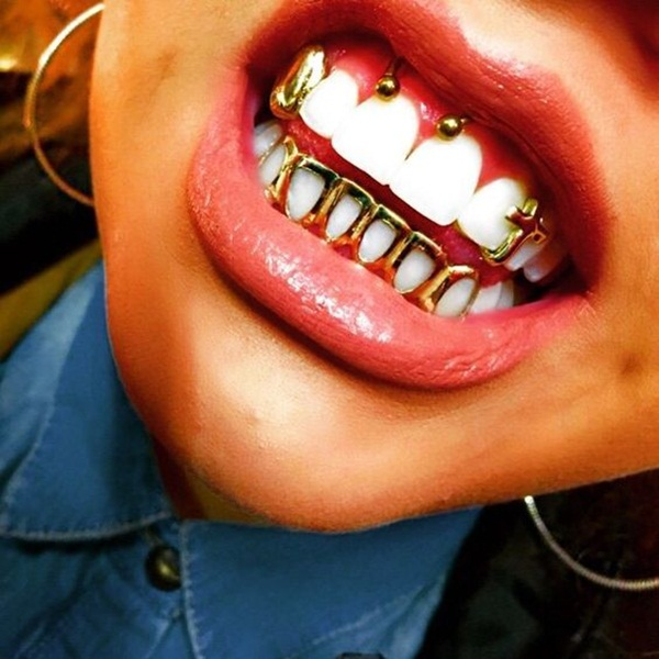 Smiley Piercing designs 15