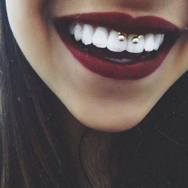 Smiley Piercing designs 2