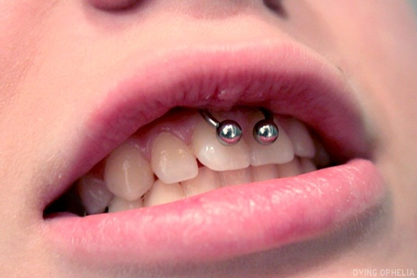 Smiley Piercing designs 29