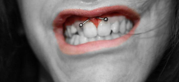 Smiley Piercing designs 52