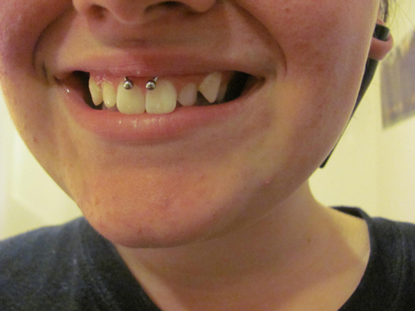 Smiley Piercing designs 66