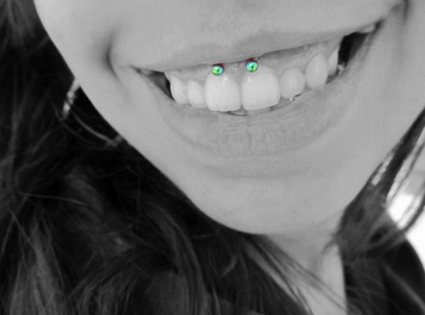 Smiley Piercing designs 67