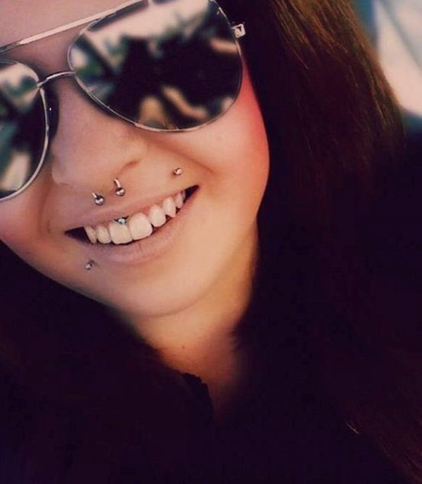 Smiley Piercing designs 9