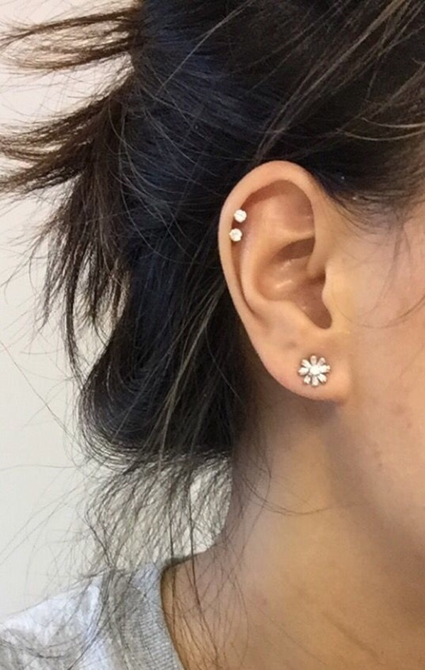 90 Ways to Express Your Individuality With A Cartilage ... Ear Piercings Cartilage