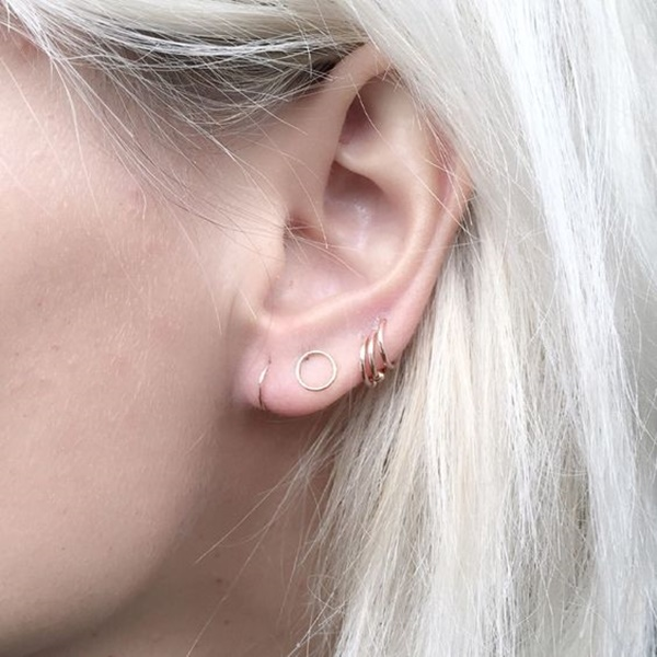 how to clean your rook piercing