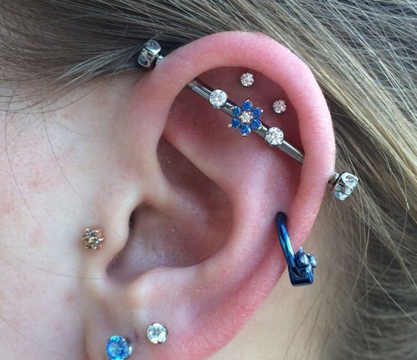 Inner & Outer Conch Piercing (5)