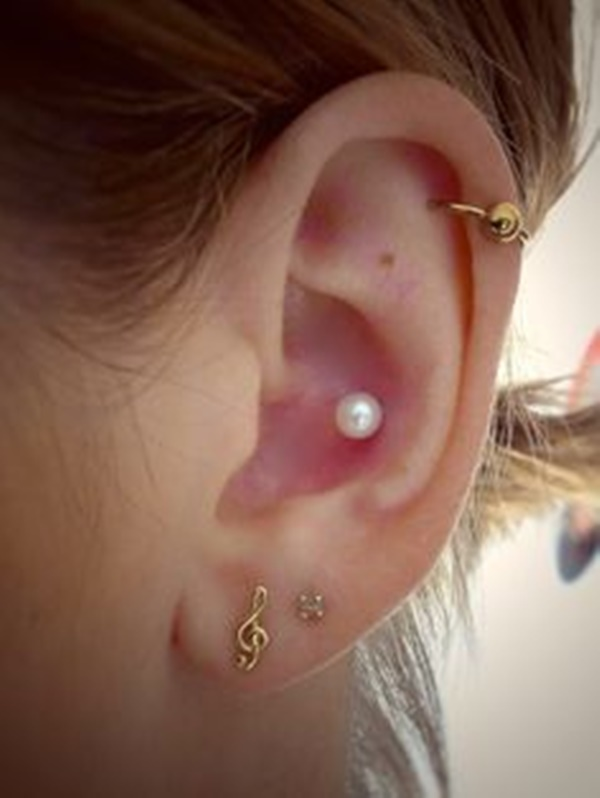 80+ Inner and Outer Conch Piercing Ideas You Can't go ...