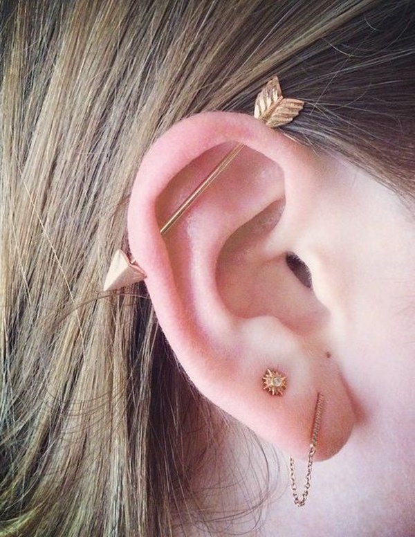 how to clean industrial piercing