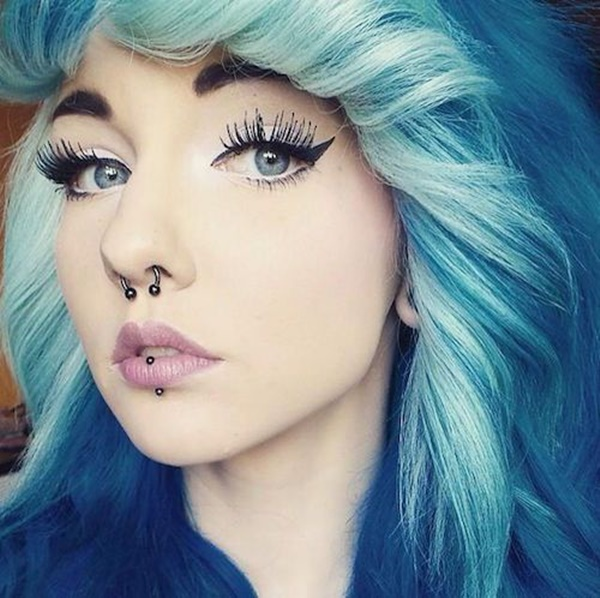 Girls Tatoo Lip Ring