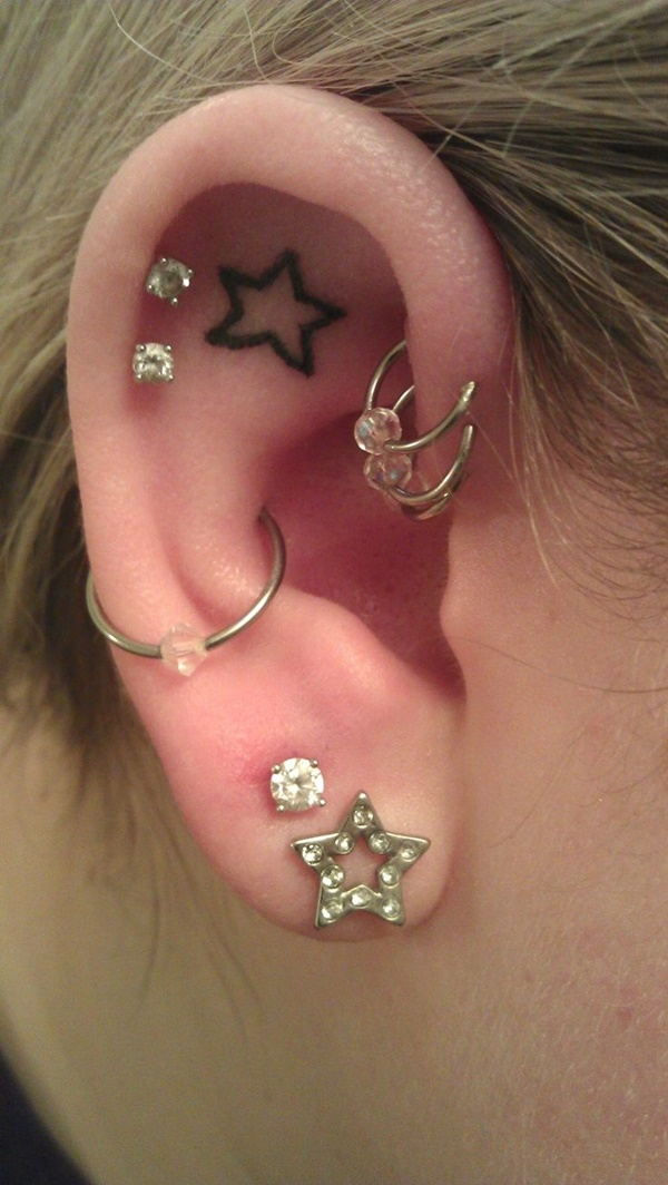 sun,moon and star piercing (9)