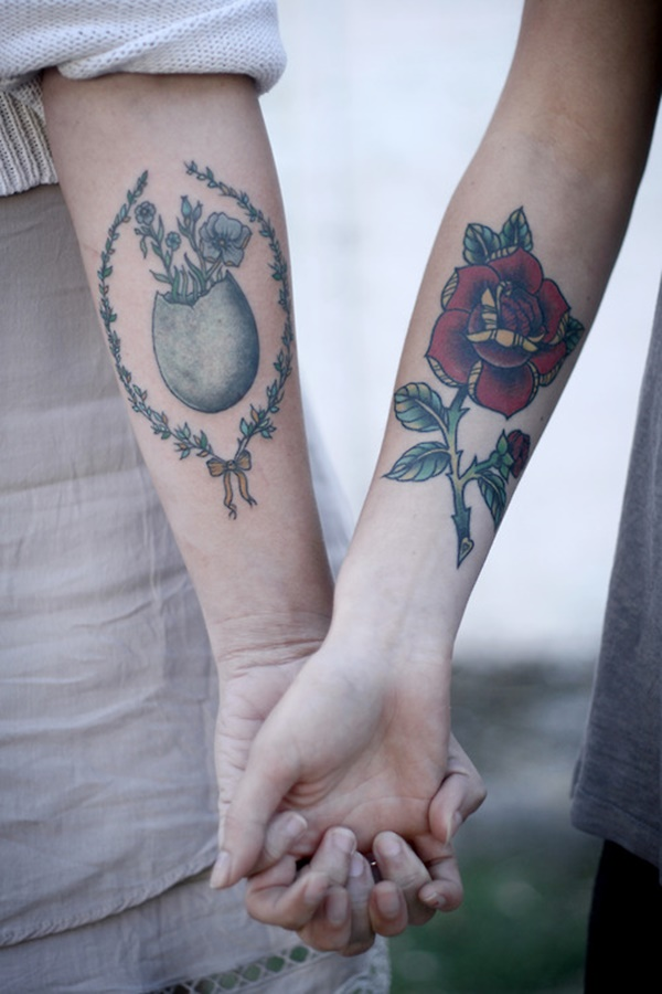 couple tattoo design (73)