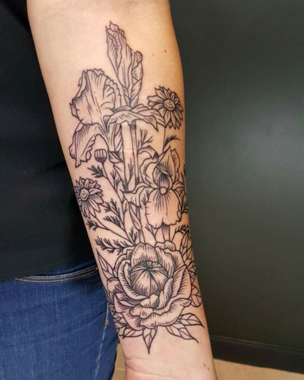 flower tattoo designs (57)