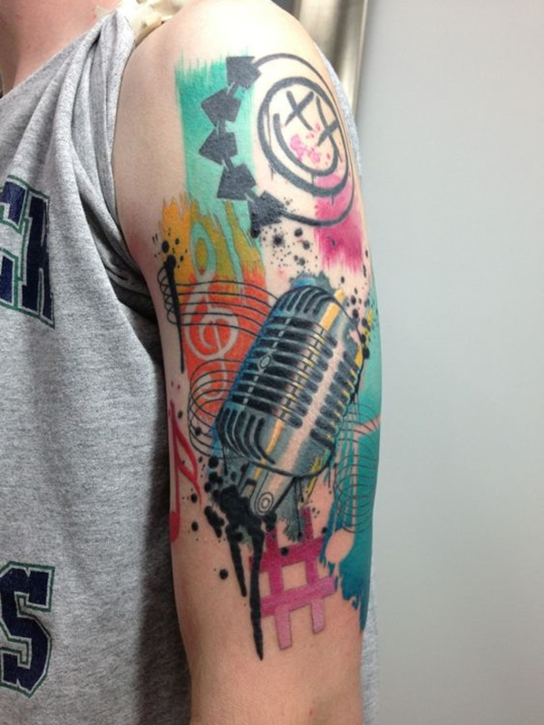music tattoo design (1)