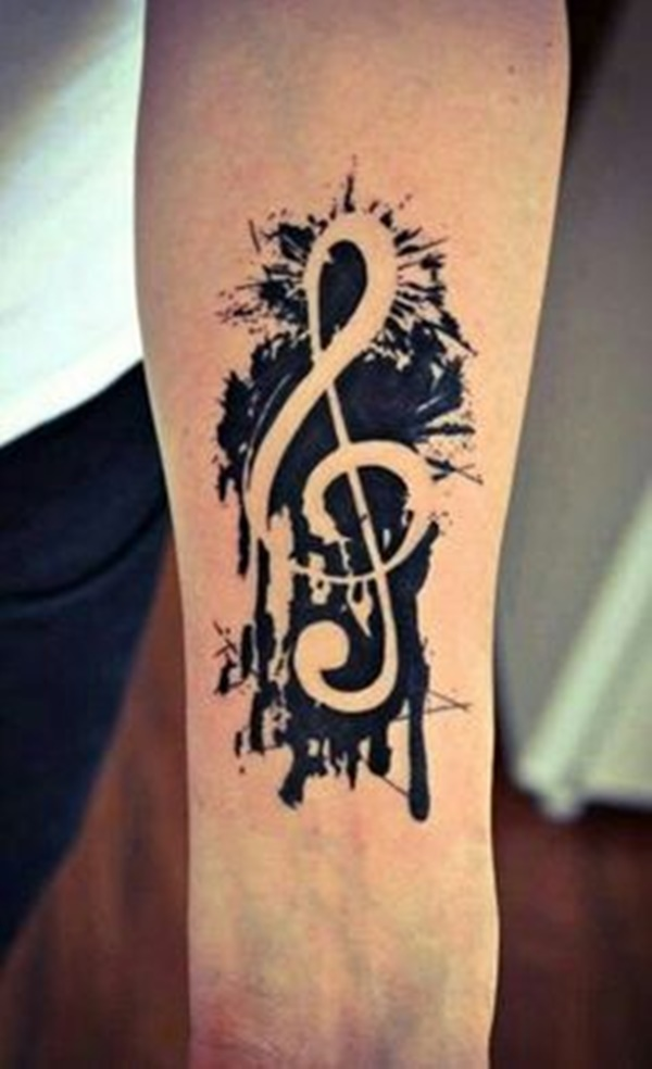 music tattoo design (2)