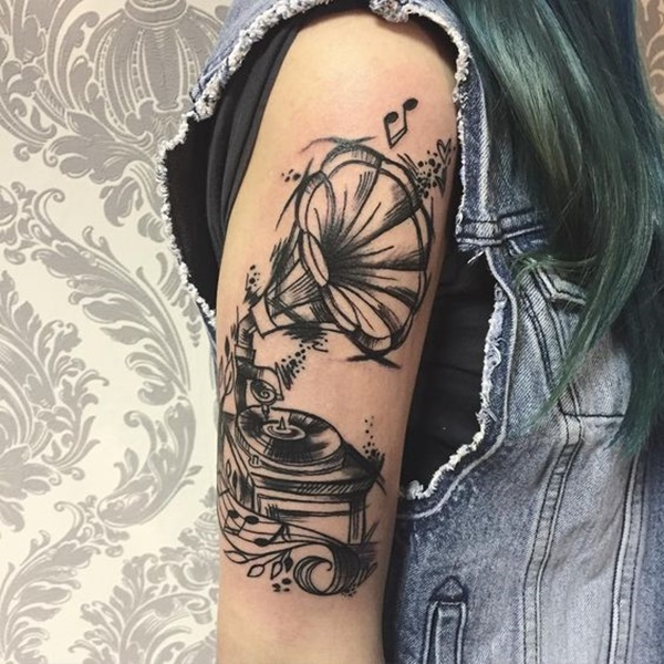 music tattoo design (22)