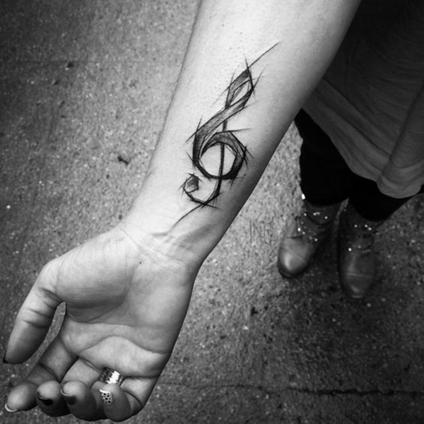 music tattoo design (28)