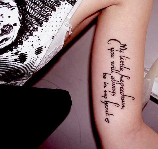 Quotes Tattoos Gorgeous 90 Inspirational Quotes Tattoo Designs