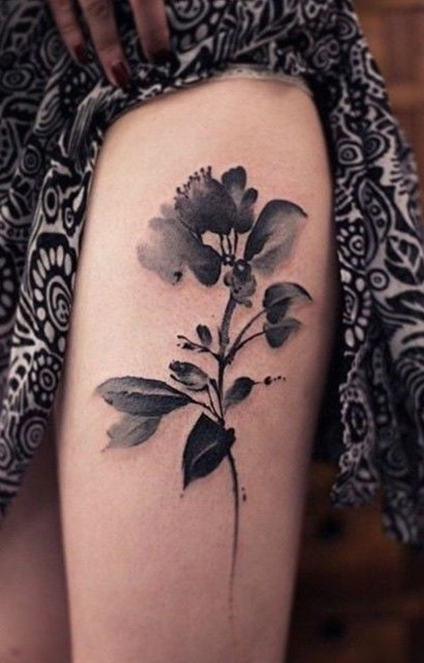 23 Back of Thigh Tattoo Ideas for Women