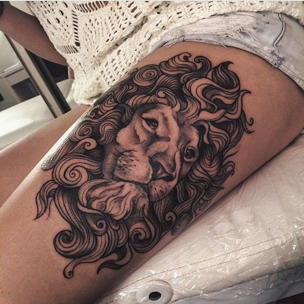 thigh tattoo designs (29)