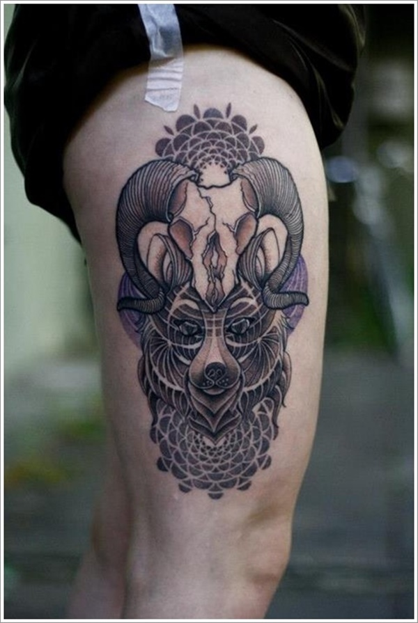 thigh tattoo designs (37)