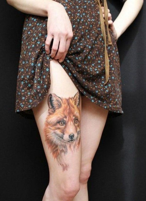 thigh tattoo designs (54)
