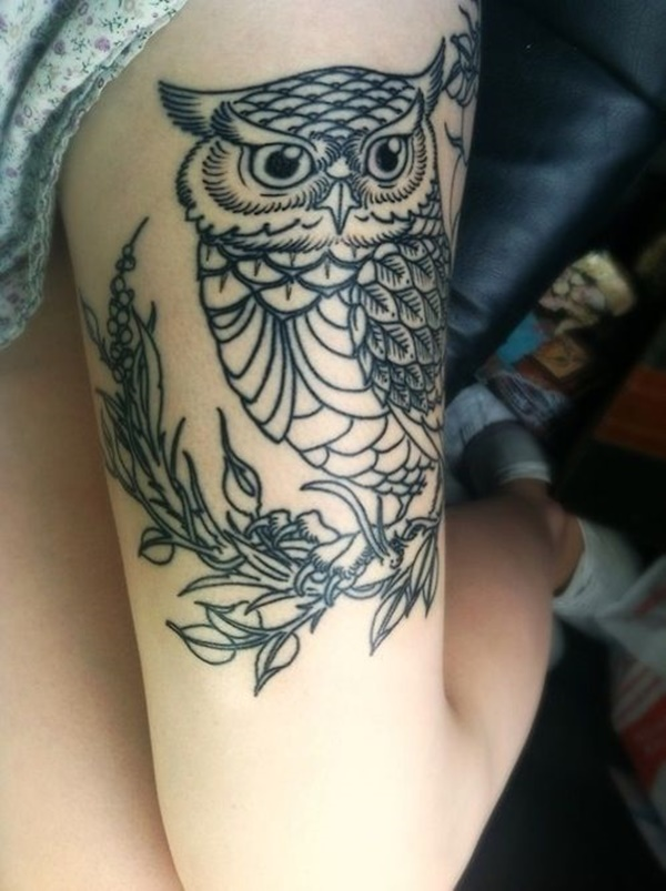 99 sexy and bold thigh tattoo designs for girls