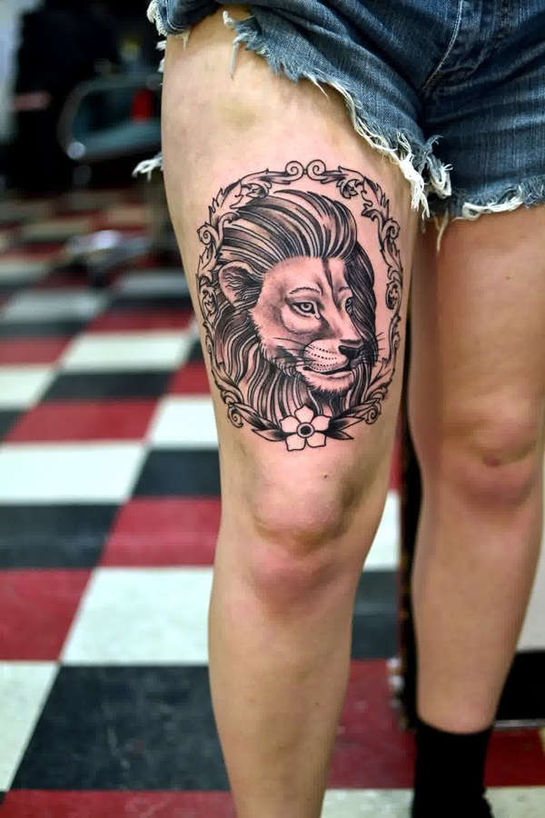 thigh tattoo designs (67)