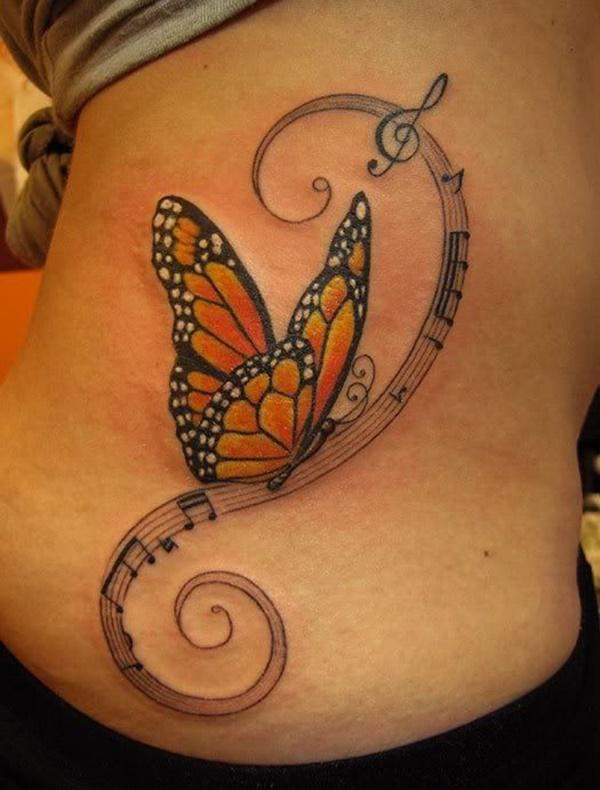 Monarch butterfly tattoo designs