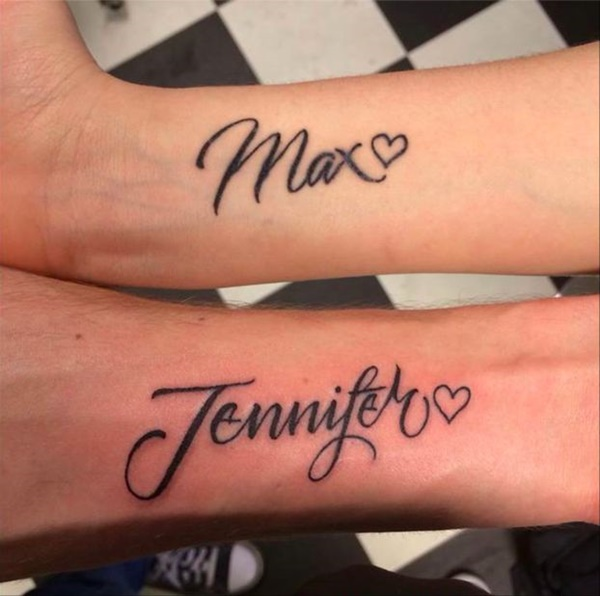 Cursive Name Tattoo Designs