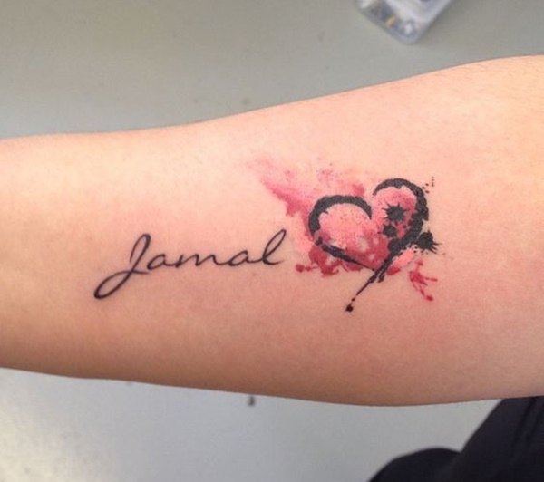 90 Name Tattoos That Will Have You Yelling, What's My Name?
