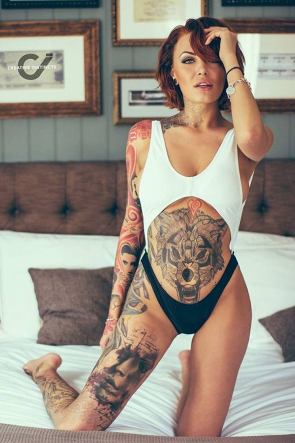 Female Tattoo Designs Side Stomach