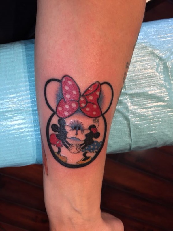 9 best amp hilarious mickey and minnie mouse tattoos